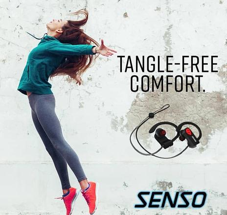 Senso Headphones Tangle Free