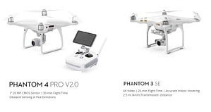 Difference Between DJI Phantom 3 and DJI Phantom 4