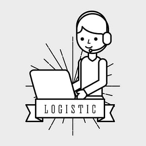 a logistic reminding a truck driver to wear his best bluetooth headset for truckers