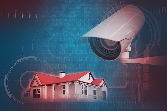 A CCTV for home use with a good NVR installed