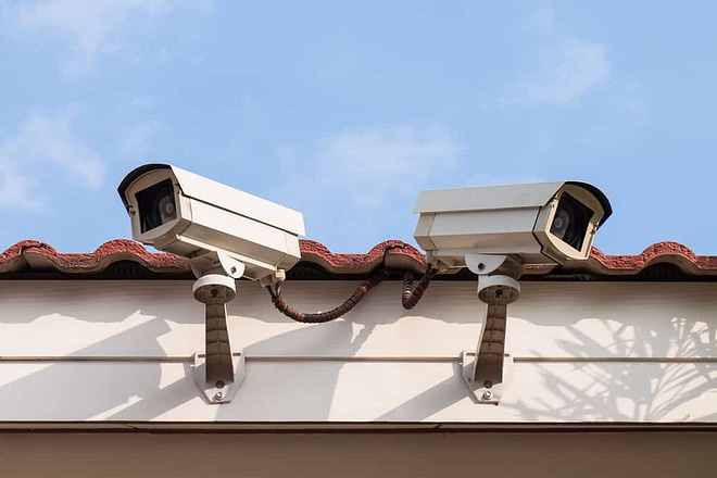 Security Camera or CCTV on roof